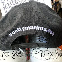 Hat by artist Greg Pitts