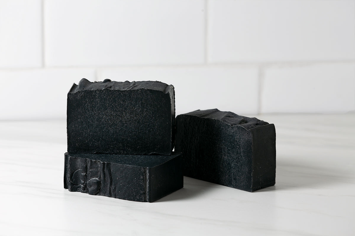 Goat Milk, Activated Charcoal, Tea Tree & Hemp Oil Soap - 4 oz Bar