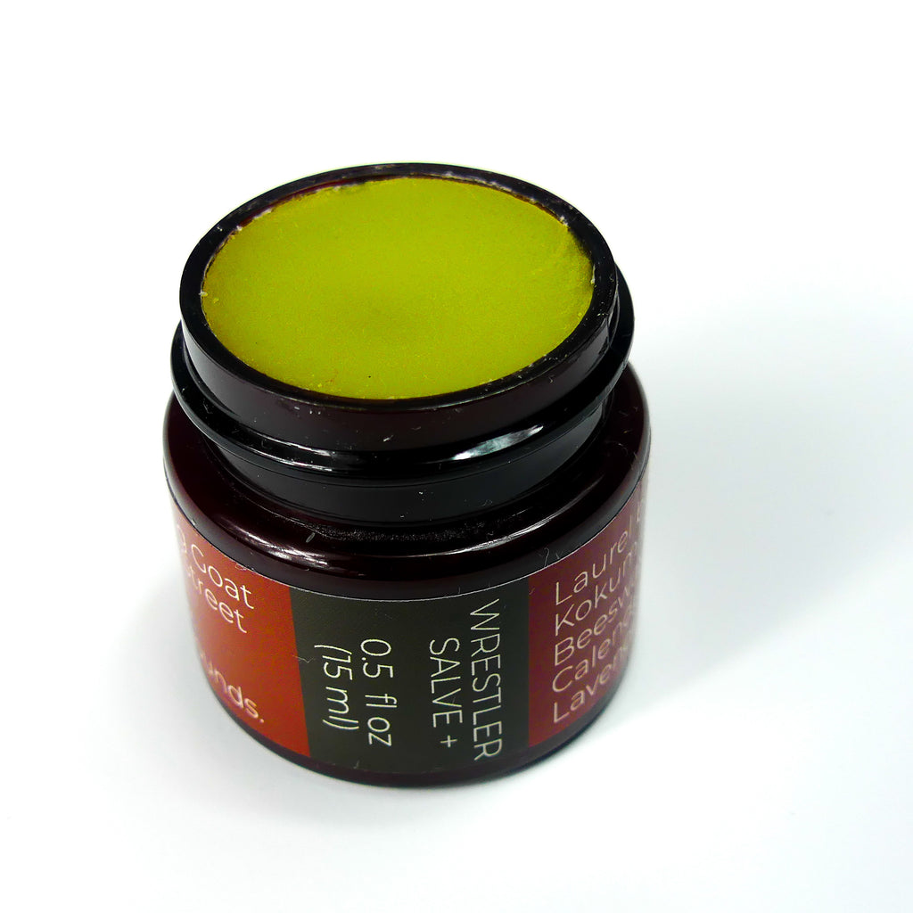 Wrestler's Salve with Hemp Oil Extract