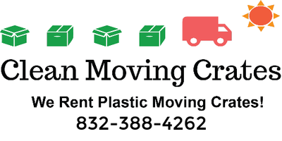 Clean Moving Crates