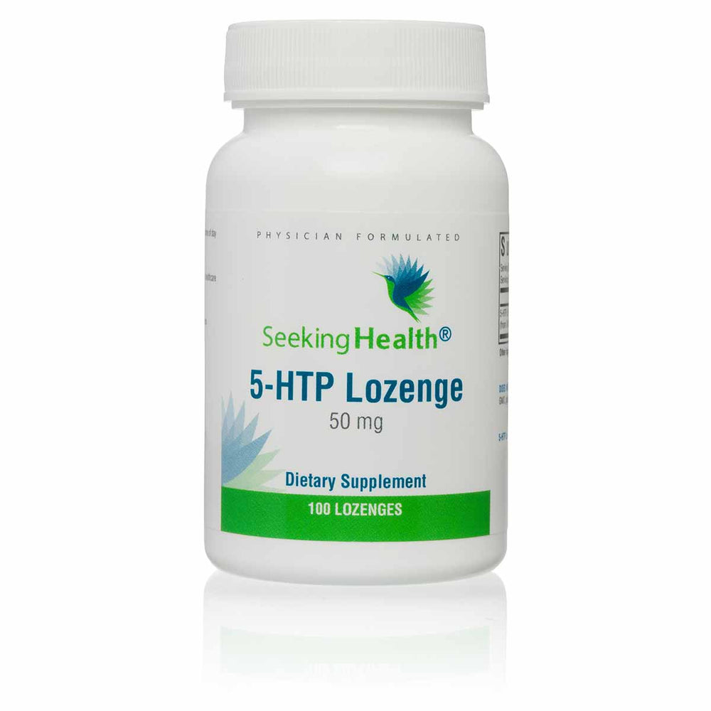 5-HTP Lozenge - 50 mg - 100 Lozenges - Seeking Health