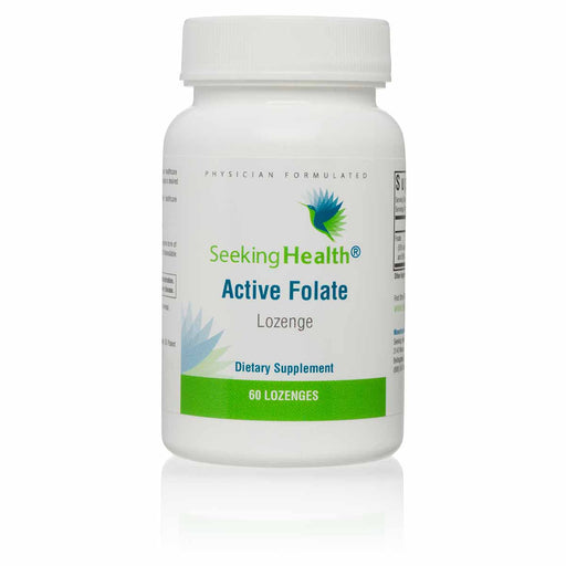 Active Folate - Dietary Supplement - 60 Lozenges - Seeking Health