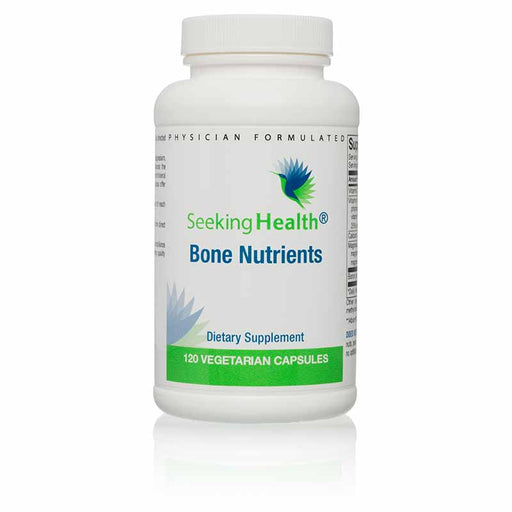 Bone Nutrients - 120 Capsules - Bottle Front