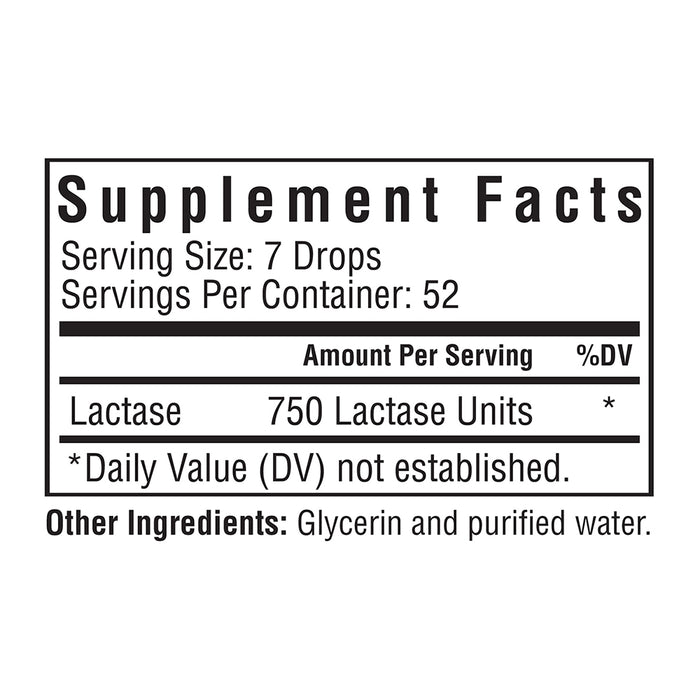 Lactase Drops - 52 Servings
