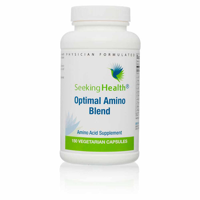 Optimal Amino Acid Blend Dietary Supplement 150 Vegetarian Capsules - Seeking Health