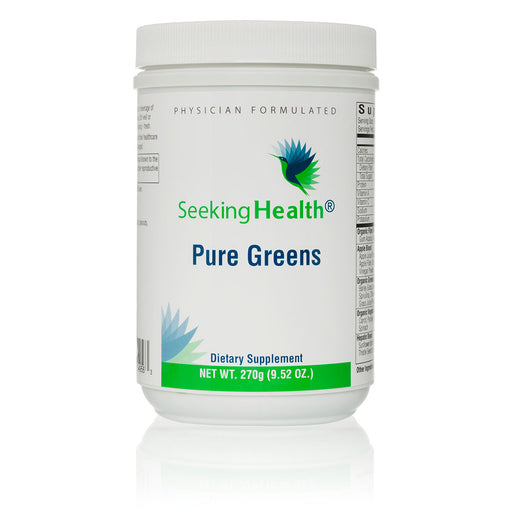 Pure Greens - Drink Powder Supplement - 30 Servings - Seeking Health