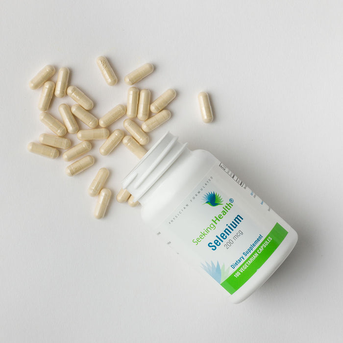Selenium - Dietary Mineral Supplement - 100 Vegetarian Capsules - Detailed Product View