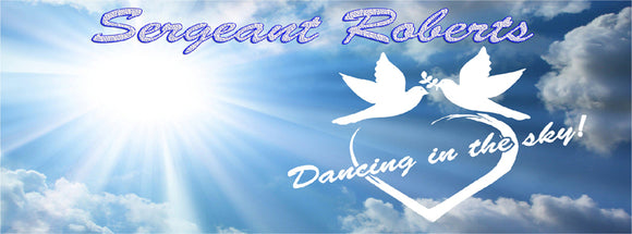 Sergeant Roberts - Home of Inspired Dancing In The Sky Decals and Jewelry