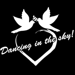 Sergeant Roberts Logo - Two Doves Dancing in the Sky - Eternal Love
