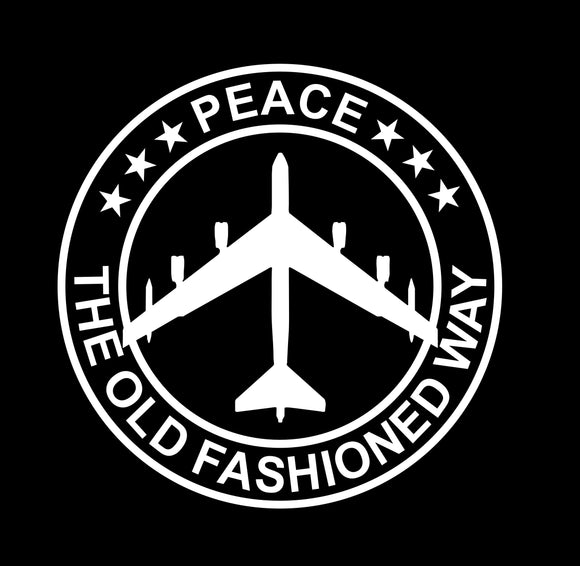 B-52 -  Peace The Old Fashioned Way 4