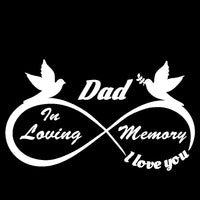 Dad - I Love You Forever - In Loving Memory