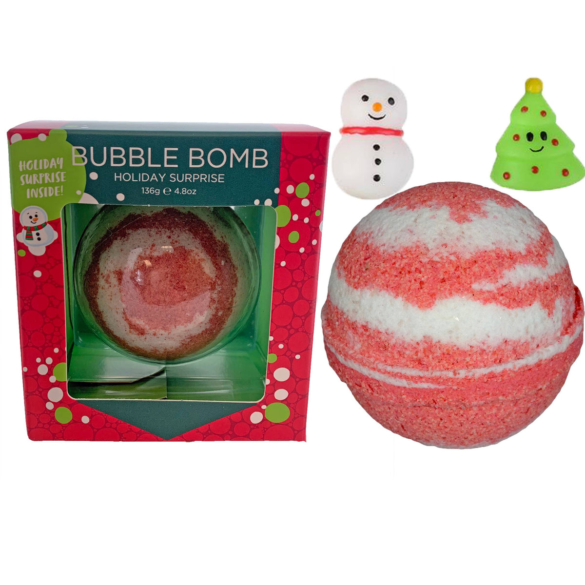 Christmas Squishy Surprise Bubble Bath Bomb