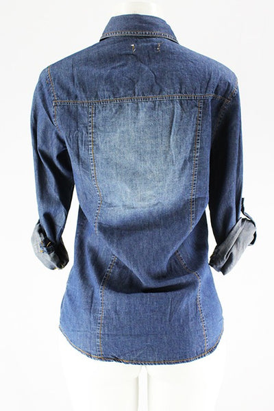 Kelley Washed Denim shirt