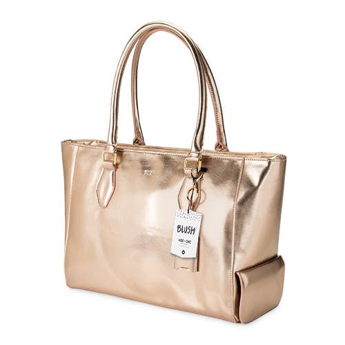 Insulated Wine Tote Rose Gold