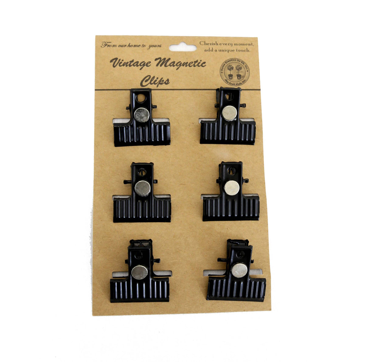 Set of 6 Magnetic Clips