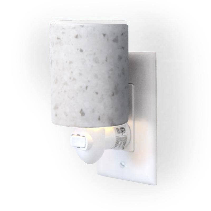 Outlet Warmer - White Terrazzo