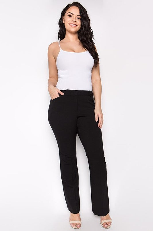 Lacona Curvy Dress Pants