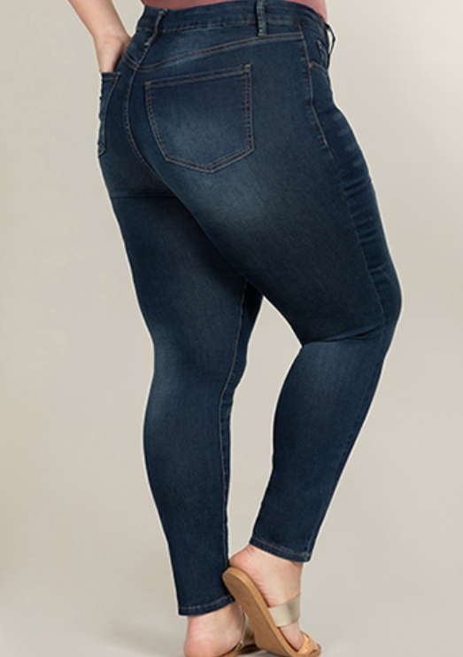Curvy fit High rise skinny
