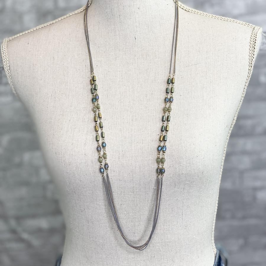 Devin Double Strand Necklace