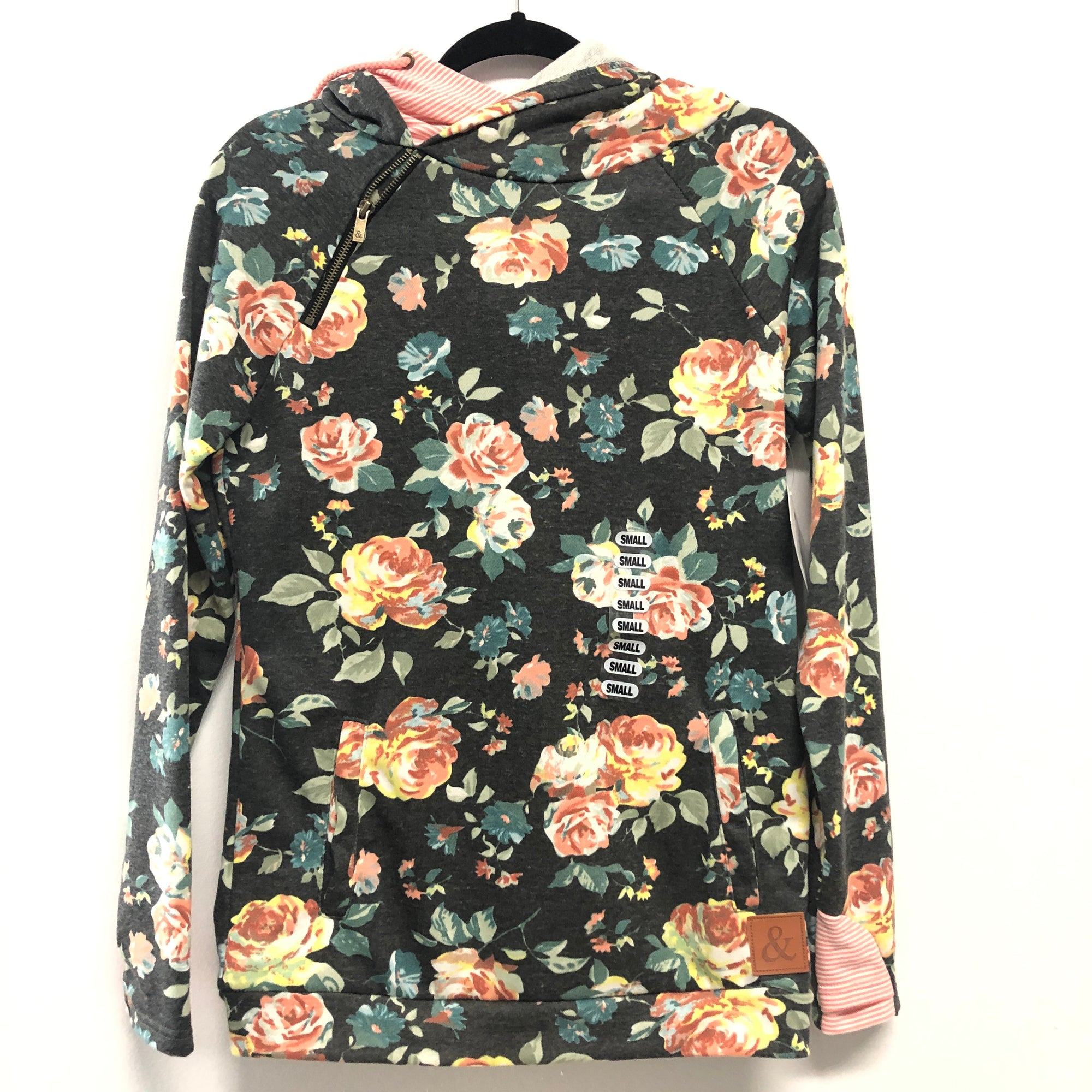 Coming up roses Double Hoodie