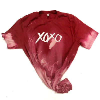 XOXO Hand Dyed Vintage Tees