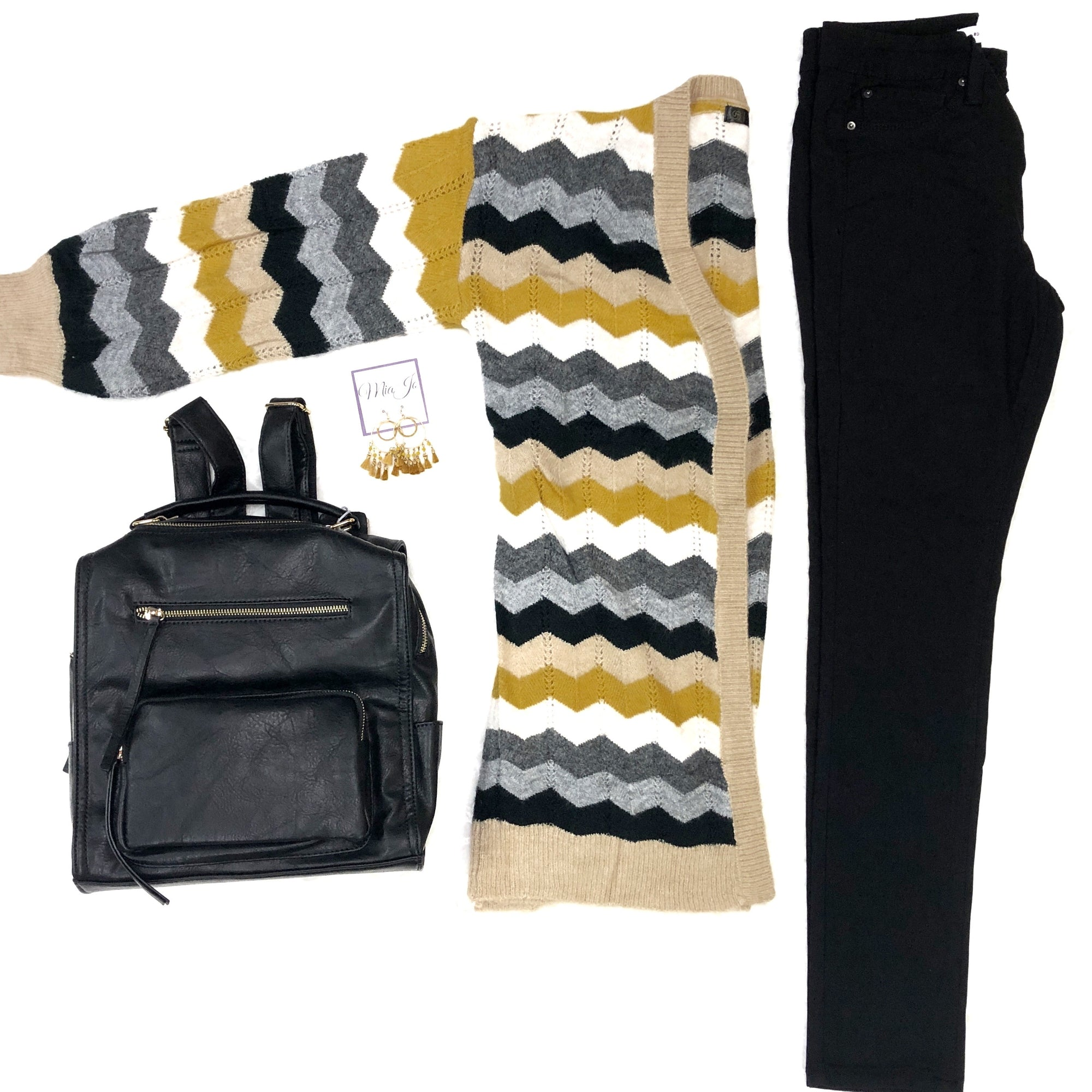 Chic for Chevron Cardigan