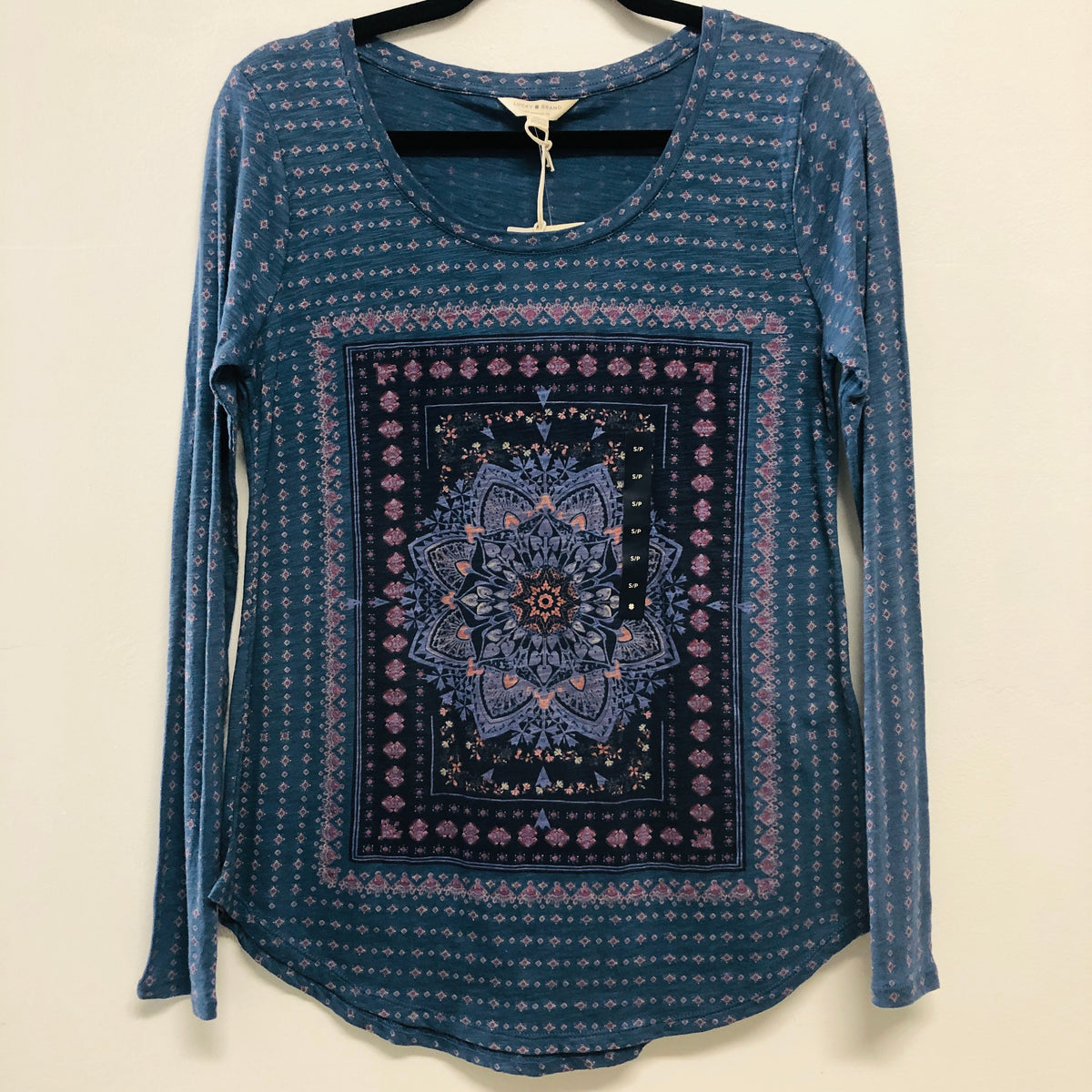 Lucky Brand Blue Multi