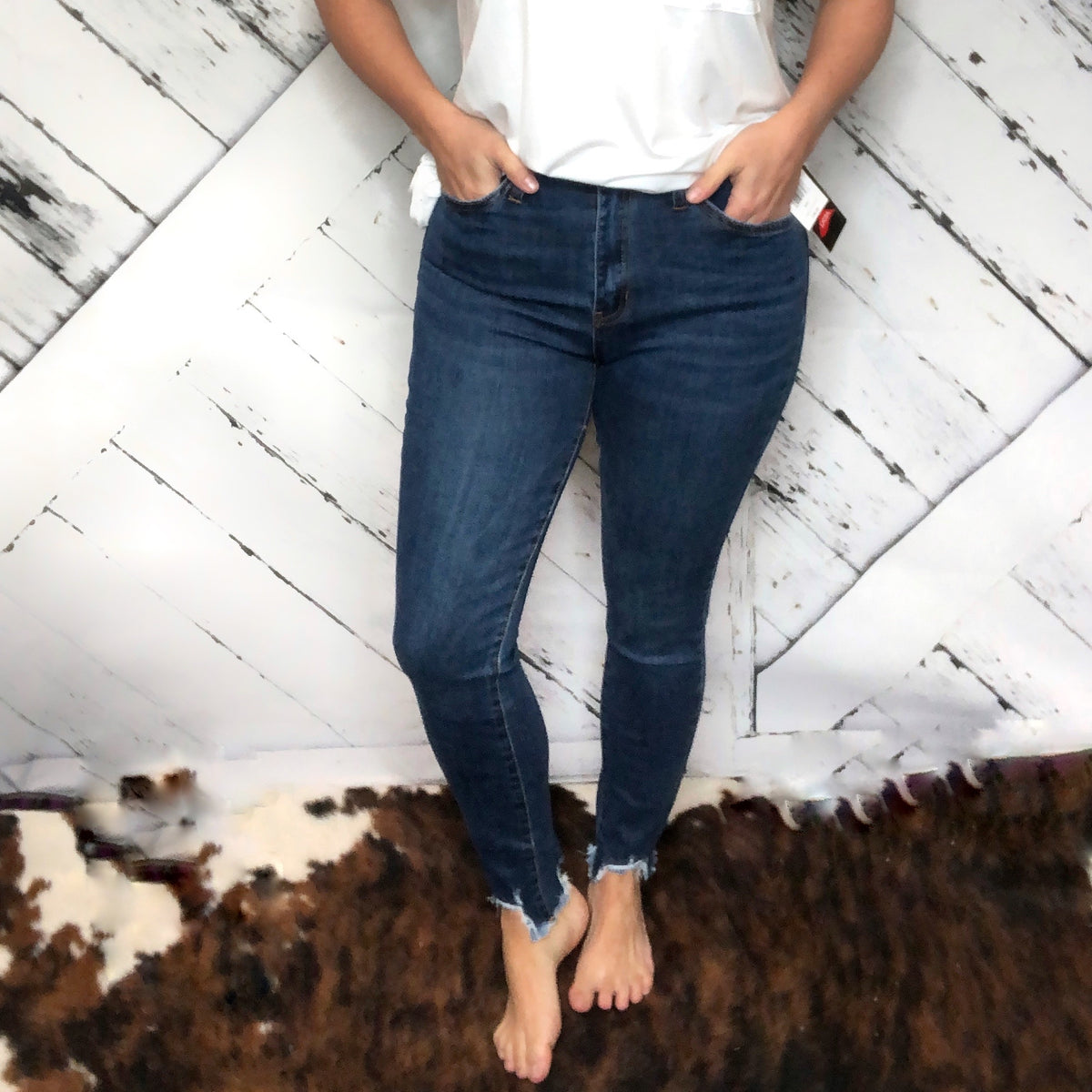 High-Rise YMI Jeans