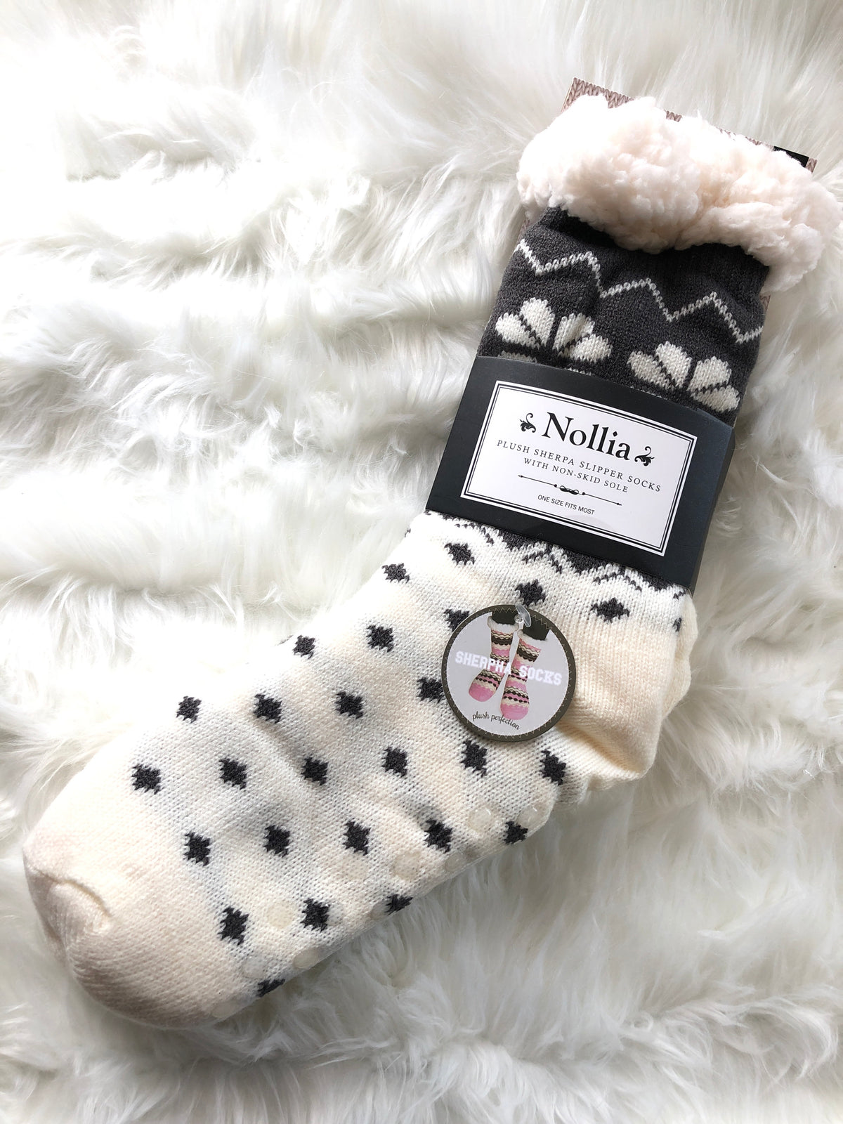 Kids Sherpa Socks