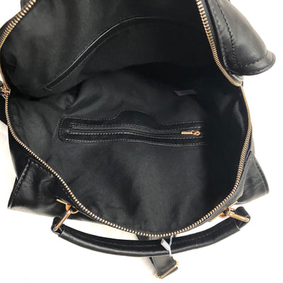 Shopper by Day Black backpack purse