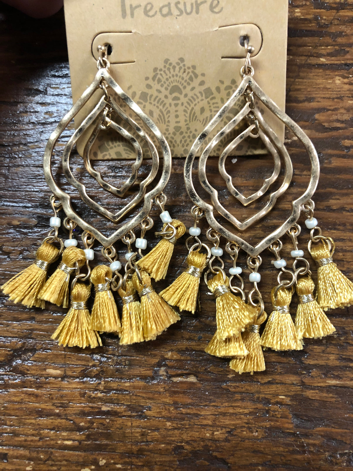 ZTassel earrings