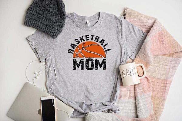 """Basketball Mom"" T-Shirt"