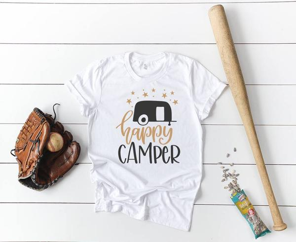 """Happy Camper"" T-Shirt"