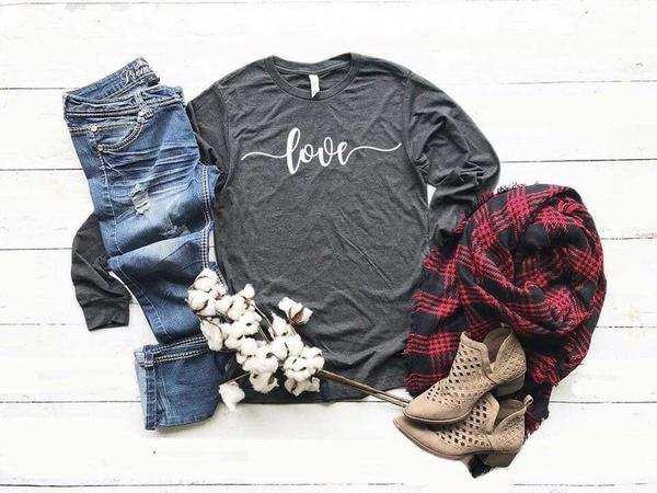 """Love"" Inspirational T-Shirt"