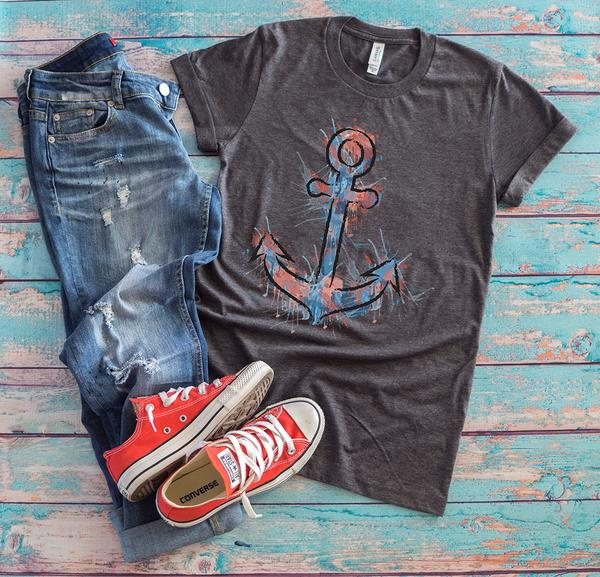boat anchor tshirt