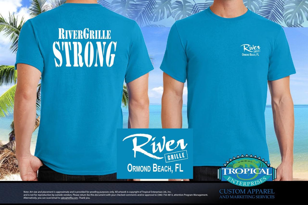 'RiverGrille Strong' T-Shirt
