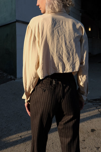 Jil Sander Wool Stripe Pants