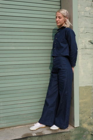 Deep Indigo Denim Pants