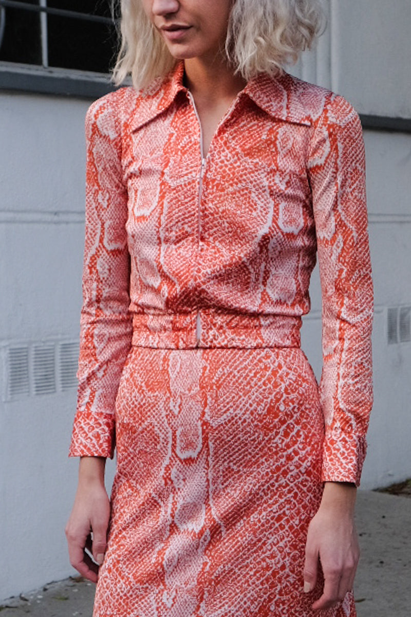 70's Silk Jersey 3 Piece Set