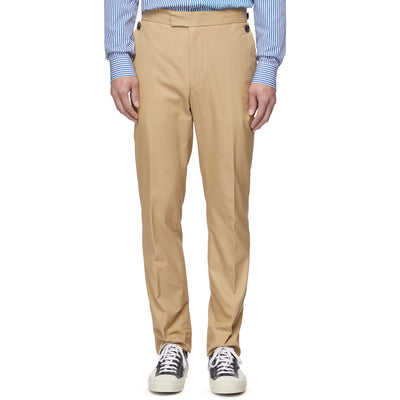 Deck Tan Fall Front Trousers