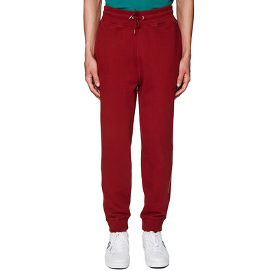 Band Universe Print Sweatpants Burgundy
