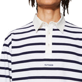 Rugby Polo Navy / White