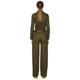 Outsider Workwear Jumpsuit Moss Green