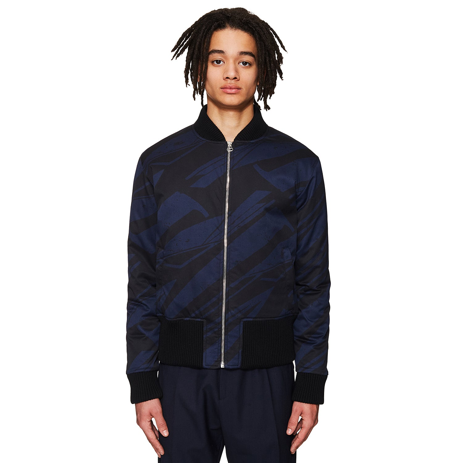 Spaceship Bomber Jacket Navy