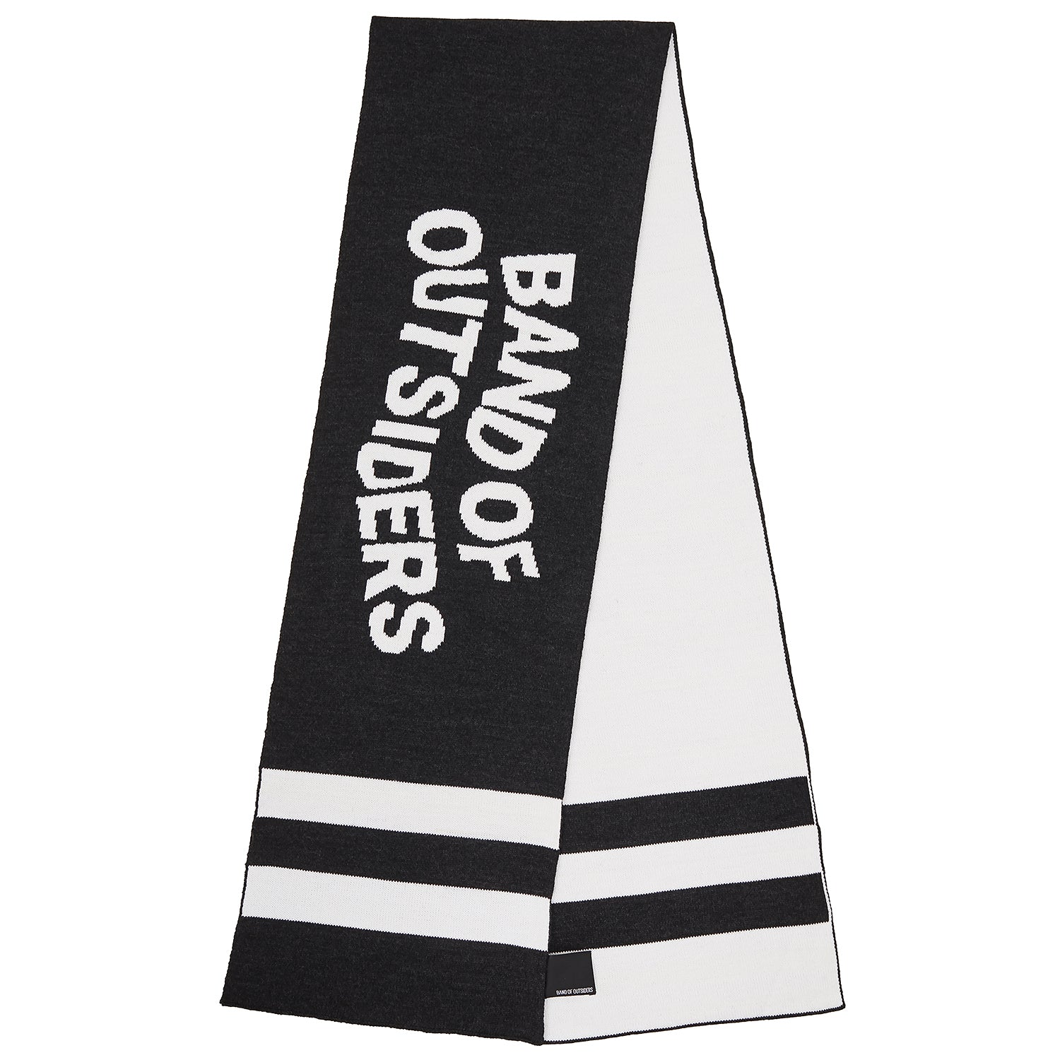 Band Scarf Charcoal