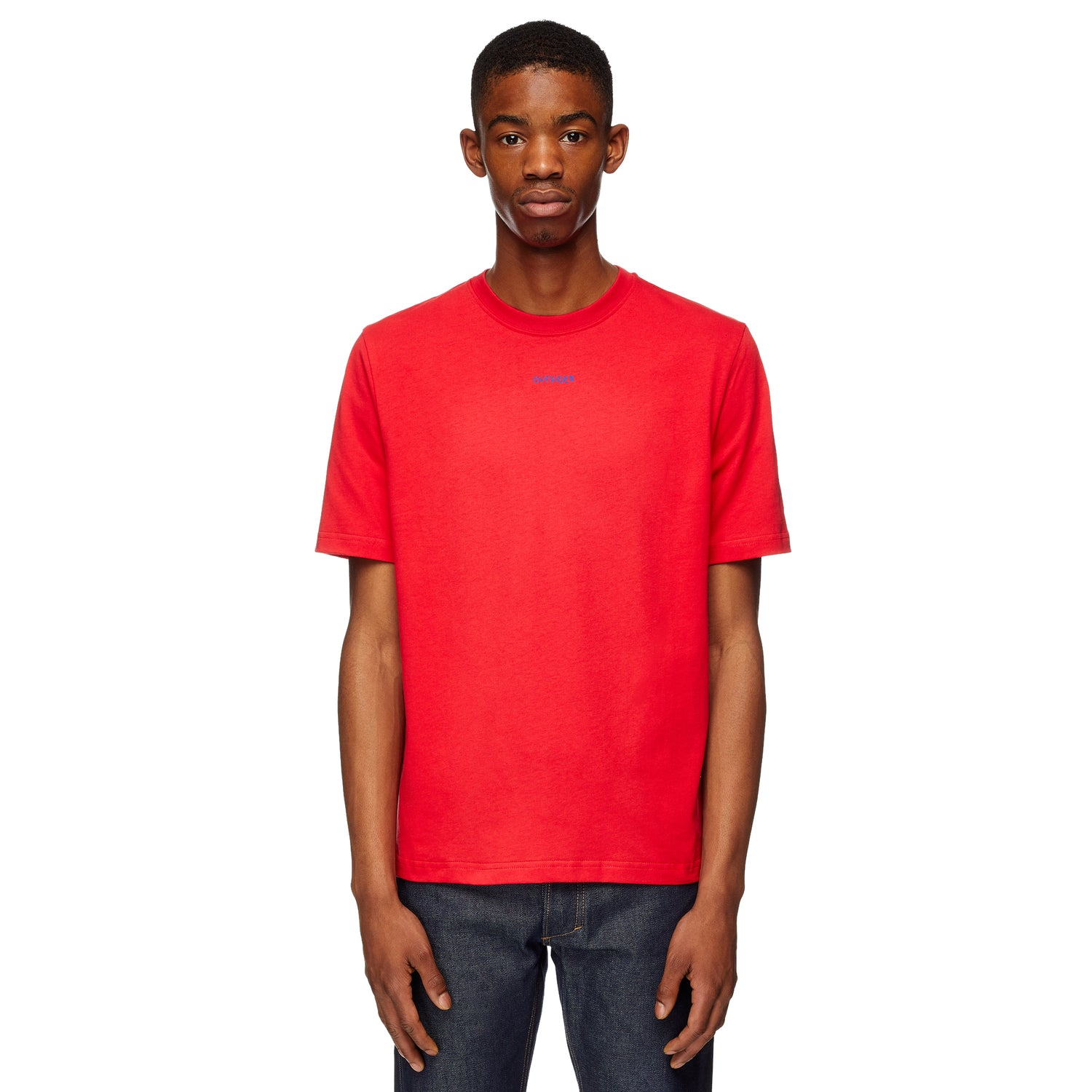 Outsider Red & Navy T-shirt