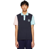 SERGIO TACCHINI X BAND OF OUTSIDERS POLO SHIRT NAVY