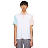 SERGIO TACCHINI X BAND OF OUTSIDERS POLO SHIRT WHITE