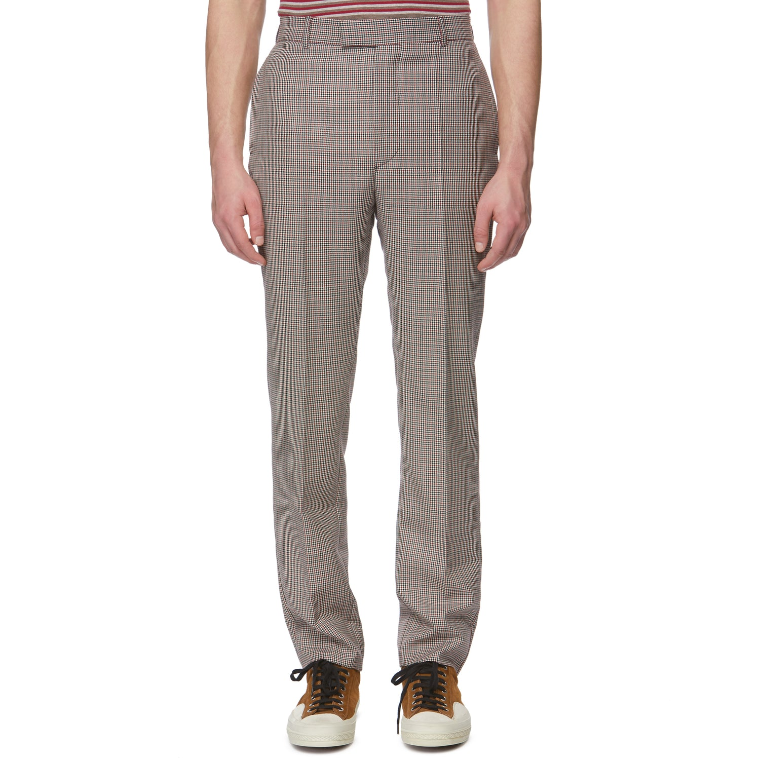 Houndstooth Retro Trousers