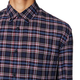 Check Pocket Shirt Navy